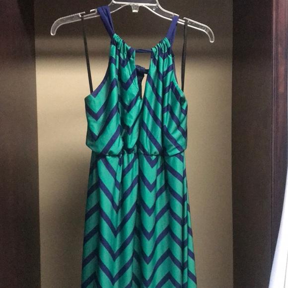 BCX Dresses & Skirts - Striped maxi dress